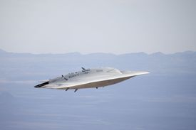 Northrop  X-47B Unmanned Combat Air System (thumbnail)