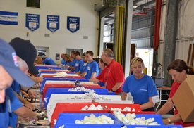 St. Augustine USO Care Package Stuffing Party (thumbnail)