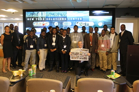New York Solutions Center Students Visit (thumbnail)