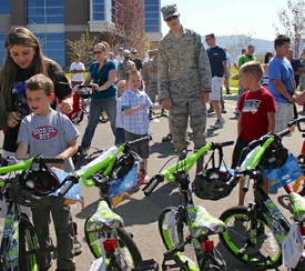Hill Air Force Base Bicycles (thumbnail)