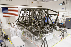 JWST Backplane Support Frame (thumbnail)