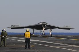 X-47B Landing (thumbnail)