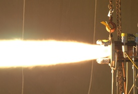 AR1 Hot Fire Test with Additive Mfg