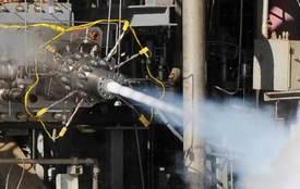 AR1 Hot Fire Test