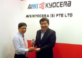 AVV950 2014 TTI Asia Supplier Excellence Award PR